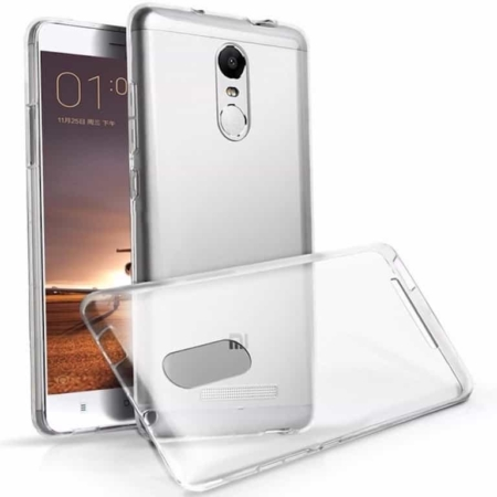Coque Transparente Antichocs Xiaomi Redmi NOTE 3