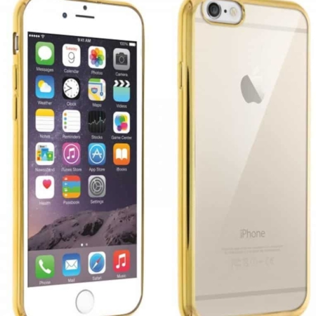Coque souple iPhone 6(S Plus Contour Or