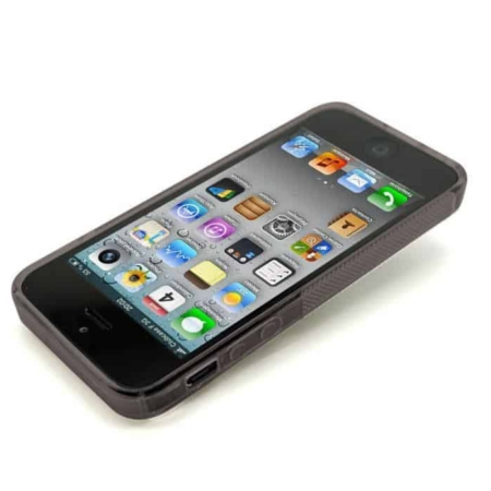 Coque Antichocs S-Line Noir iPhone 5,5S,SE