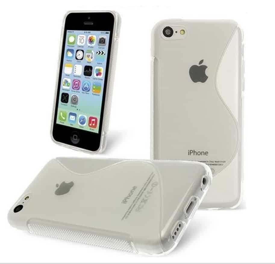 Coque Transparente S-Line Antichocs iPhone 5,5S,SE