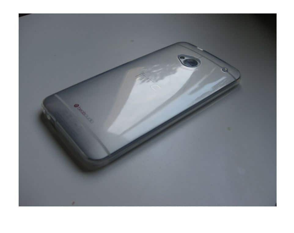 Coque Transparente Antichocs HTC One M7