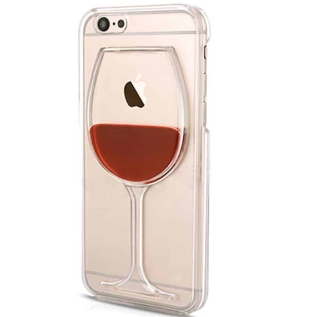 Coque verre de vin rouge iPHONE 6 PLUS, 6S PLUS