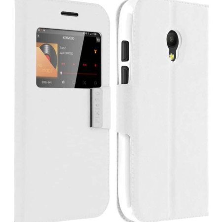 Coque étui ORANGE RISE 51- Blanc