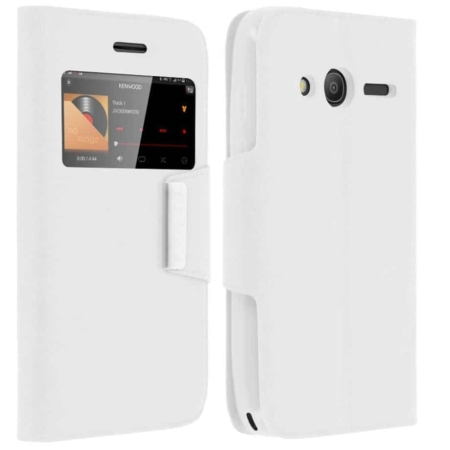 Coque étui ORANGE RISE 31 -Blanc