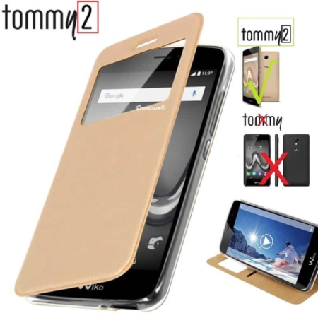 Coque Etui WIKO TOMMY 2 -OR