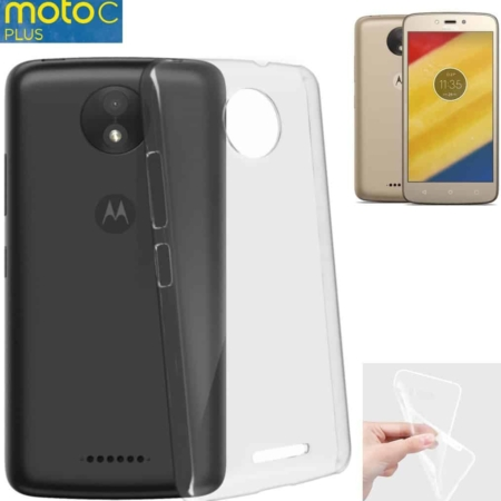 Coque Transparente Antichocs MOTO C PLUS