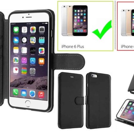 Coque Etui Portefeuille iPHONE 6(S)PLUS