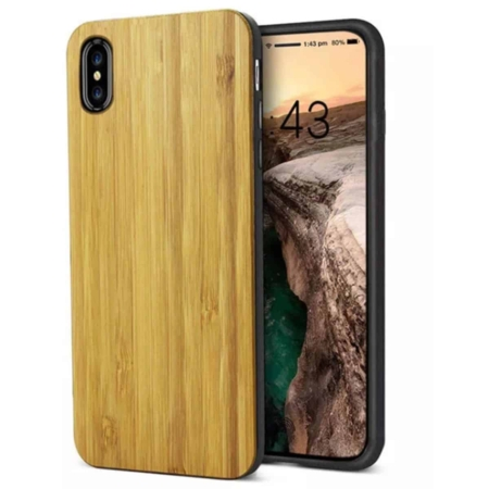 coque bambou iphone x