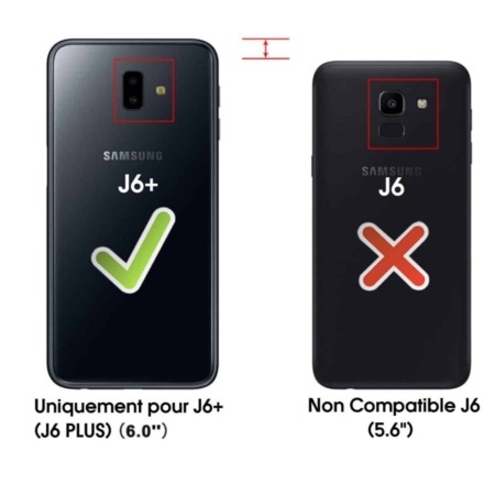 coque galaxy s6 rouge et or