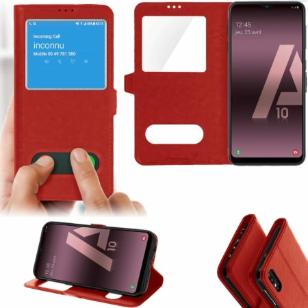 coque galaxy a10 rouge